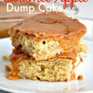 Apple Dump Cake With Cake Mix Recipes.