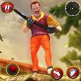 Crazy Neighbor Survival Game icon