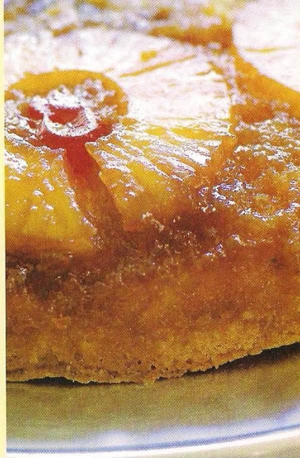 Pineapple Upside Down Cake In An Iron Skillet Recipe