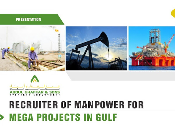 Manpower Recruiting Agency in Saudi Arabia, UAE, Qatar, Oman
