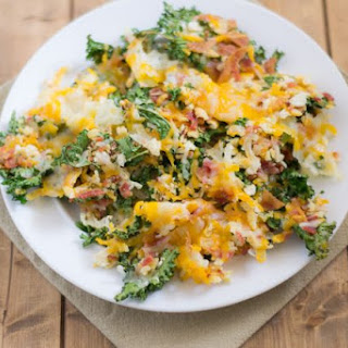 Bacon Cheddar Kale Chips.