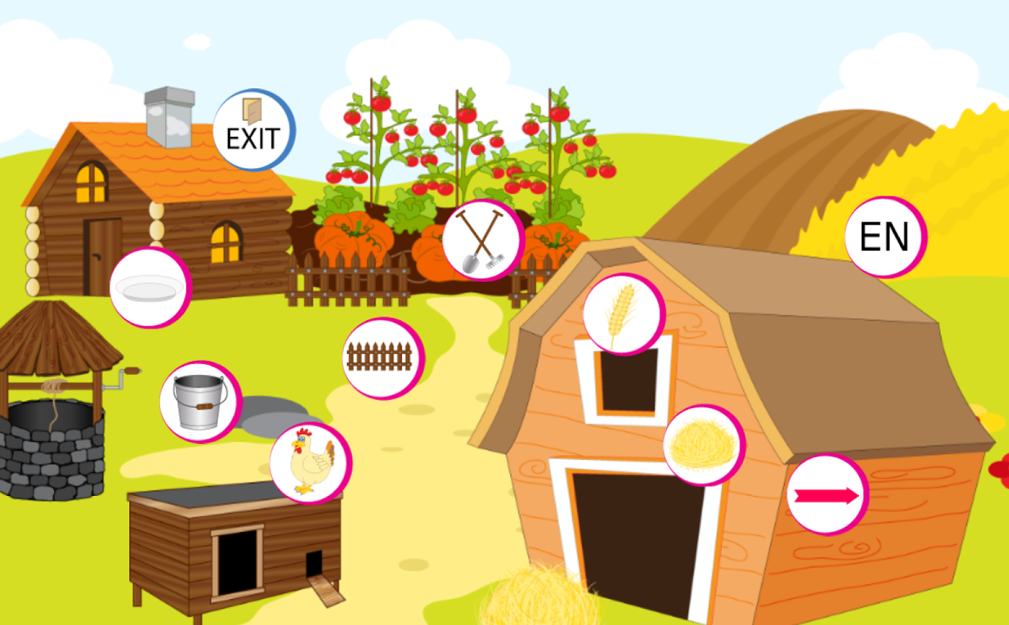 animals farm for kids android apps on google play