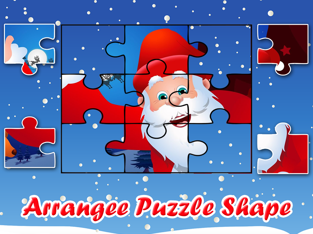 Christmas Games Jigsaw Puzzle: Xmas Santa 2017- screenshot