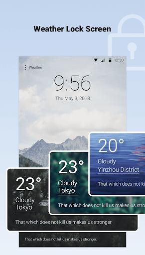 توقعات الطقس - الطقس العالمي رادار دقيق screenshot 9