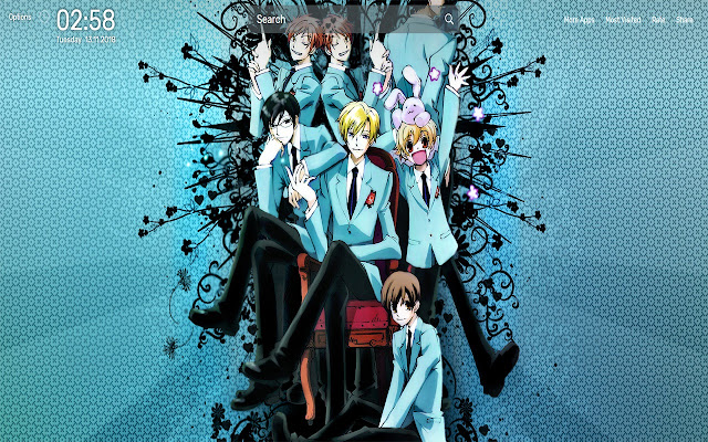Ouran High School Wallpapers NewTab Them