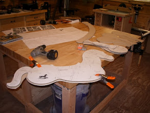 Photo: I was asked by my brother to make a couple rocking horses for his grandsons. A friend of mine had already made a couple, so I borrowed his plans & templates and got to work...