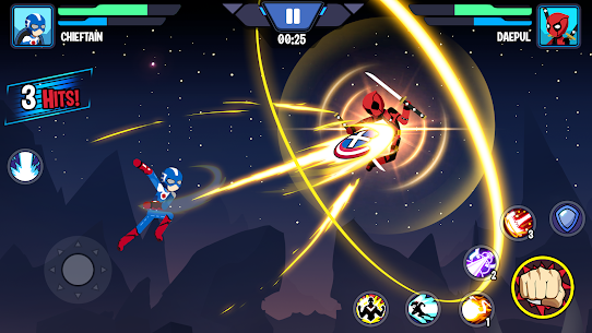 Stickman Superhero MOD (Unlimited Coins) 3