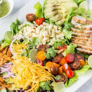 Grilled Chicken Taco Salad.