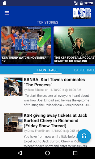 Kentucky Sports Radio (KSR) 2.12 screenshots 1