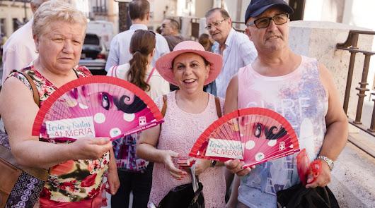 Almería comienza nueve días de fiestas en honor a la Virgen del Mar