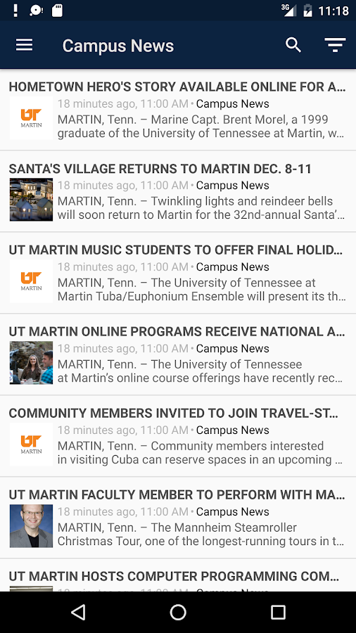 UT Martin- screenshot