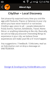 CityShor Discover Food Events screenshot 7