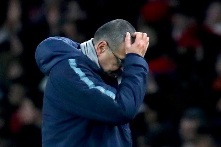 Maurizio Sarri s'enferme seul une heure avec ses joueurs après la lourde défaite à Bournemouth