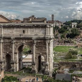 Arco de Triunfo, Roma by Ricardo Figueirido - Buildings & Architecture Statues & Monuments