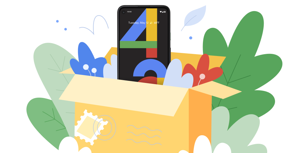 Pixel 4a phone with subscription service.