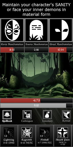 Grim Quest - Old School RPG android2mod screenshots 3