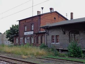 Photo: Budynek ekspedycji kolejowej i magazyn {Zielona Góra; 2014-07-19}