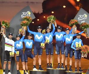 Movistar dévoile sa sélection pour le Tour d'Espagne : Du beau monde