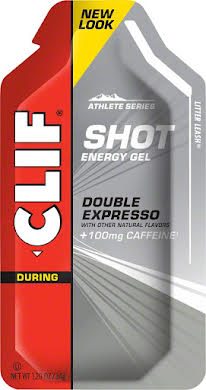 Clif Bar Clif Shot Energy Gel - Double Espresso Turbo w/ Caffeine - 24-Pack alternate image 0