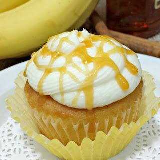 Banana Rum Cupcakes.