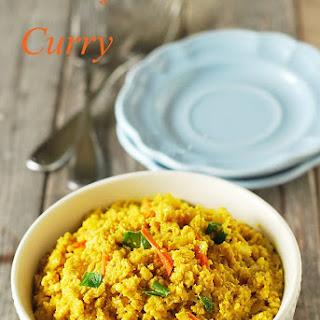Cauliflower Rice Curry.