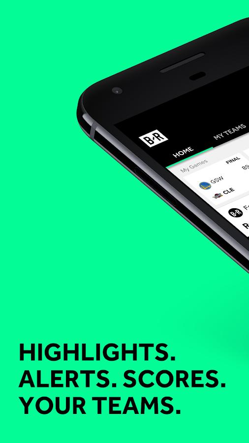 Screenshots of Bleacher Report: Team Stream for iPhone