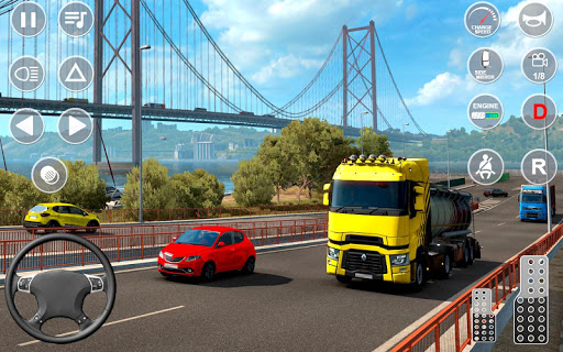 Euro Truck Transport Simulator 2: Cargo Truck Game screenshots 1