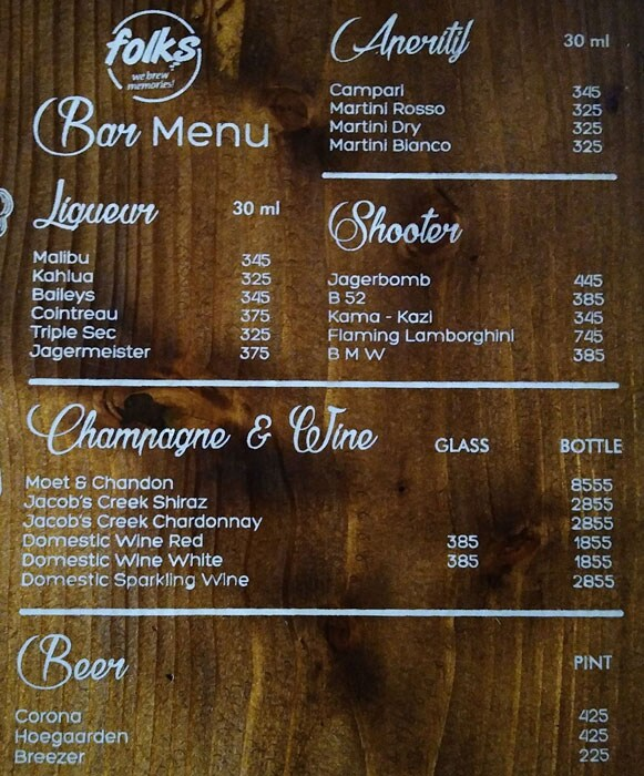 Folks menu 1
