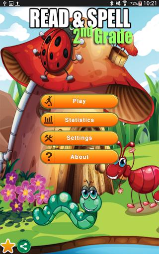 Read Spell Game Second Grade