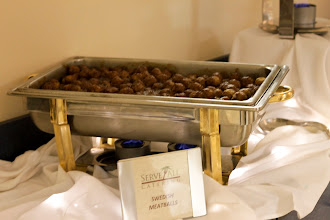 Photo: The 504 Experts made sure everyone had plenty to eat! In this picture,Meatballs from Sweden www.504blog.com