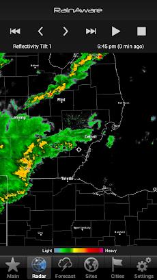 RainAware Weather Timerのおすすめ画像2