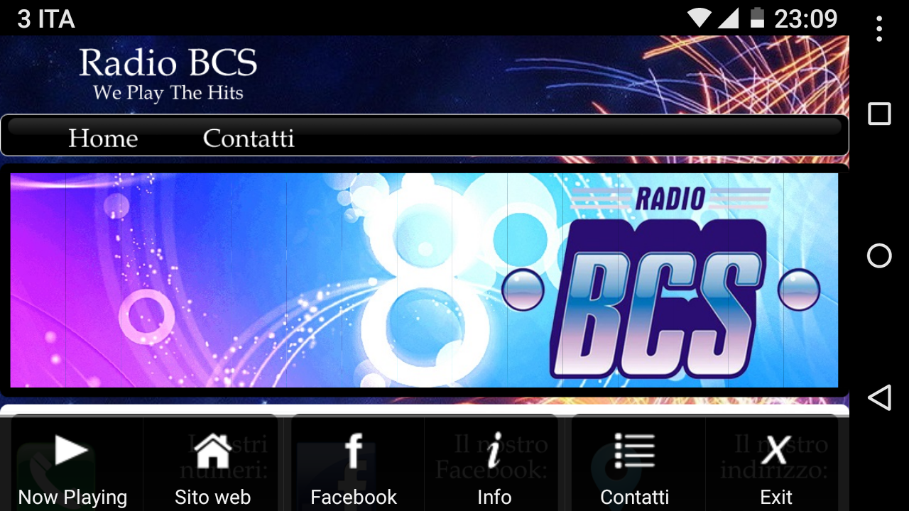 Radio BCS- screenshot