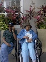 Photo: Grandma & Stanley - April 17