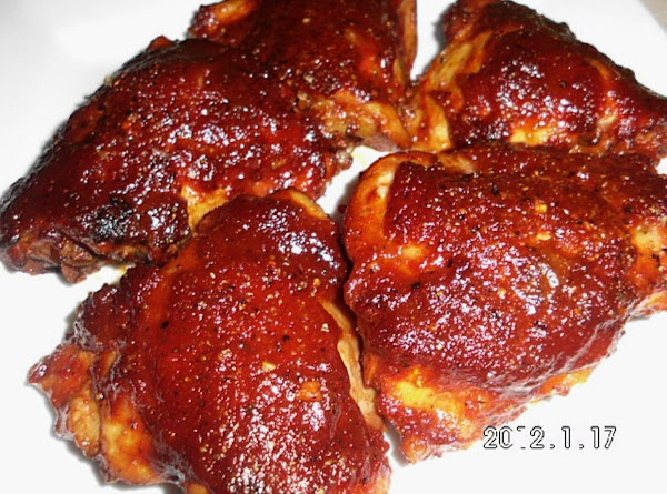 Bake on 350° uncovered for 1 hr.  Remove from oven, remove chicken from...