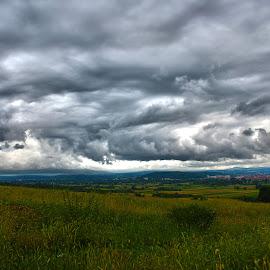 by Vukosava Radenovic - Landscapes Cloud Formations