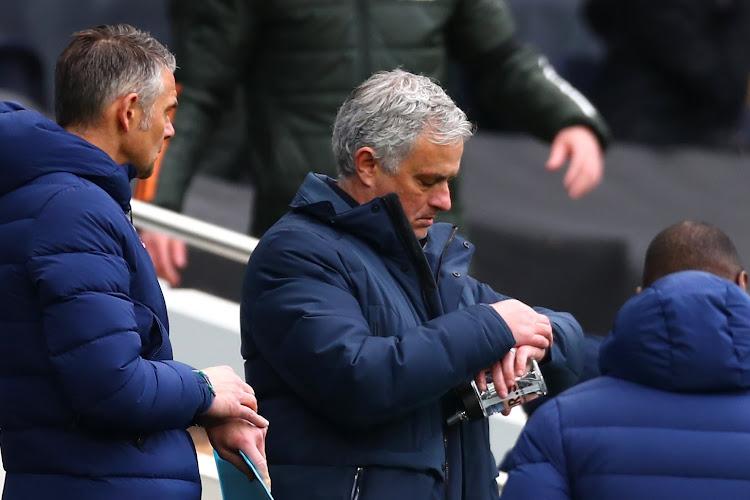José Mourinho viré de Tottenham