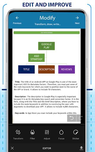 PDF Scanner - Scan documents, photos, ID, passport screenshots 3