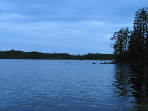 Photo: Юдозеро, дождливый вечер