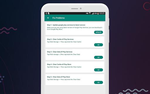 Fix Play Services 2020 (Update) 1.4 screenshots 7