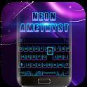 Black Neon 3D Keyboard Theme icon