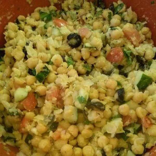 Margie's Garbanzo Bean Salad Recipe