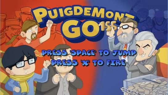 Puigdemont GO - náhled