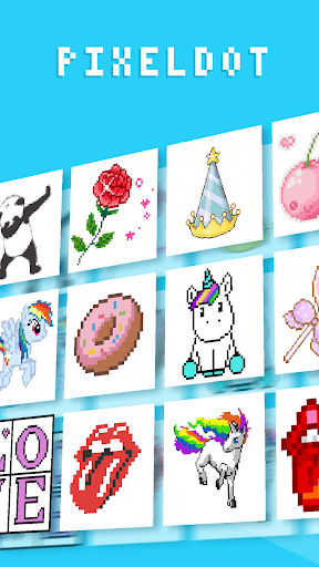 PixelDot - Color by Number Sandbox Pixel Art 1.2.9.0 screenshots 6
