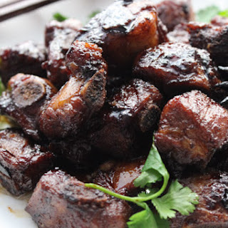 Delicious Braised Pork Ribs.