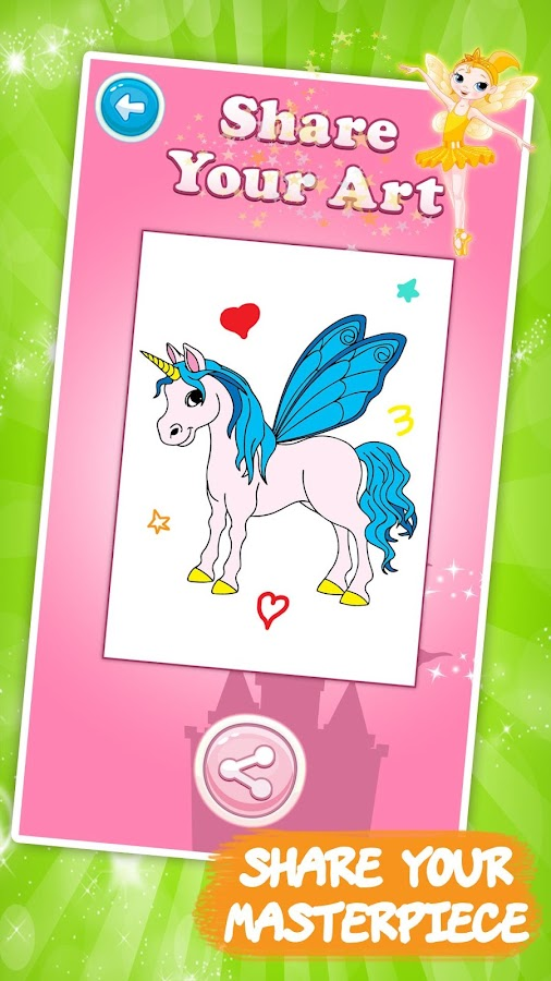 9 Year Old Coloring Books : Unicorn coloring book for kids android apps on google play