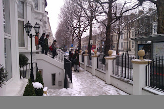 Photo: Wake up! It has snowed!