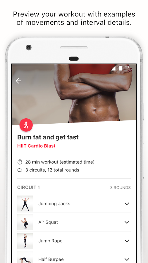 Moov Coach & Guided Workouts- screenshot