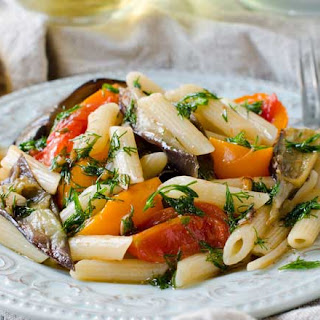 Roasted Vegetables with Pasta Recipe