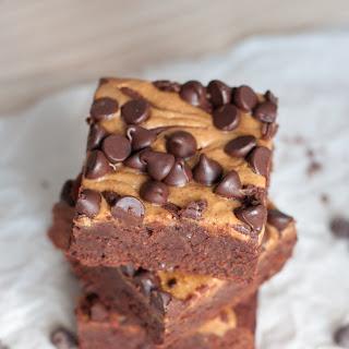 Triple Chocolate Peanut Butter Brownies