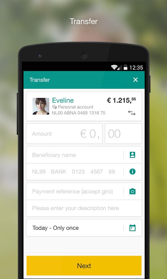 ABN AMRO Mobiel Bankieren - screenshot